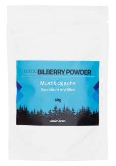 Bilberry powder 80g